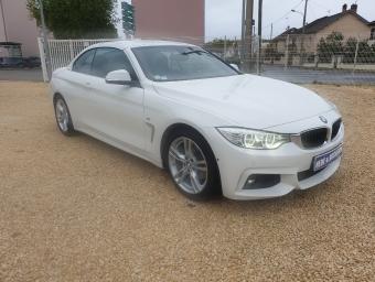 BMW SERIE 4 Cab 420d 184 ch M Sport Pack Techno A